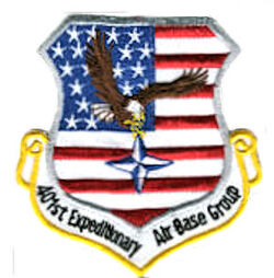 Emblem of the 401st Expeditionary Air Base Group