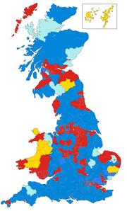 UK Election 1950 Map