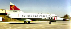 431st Fighter-Interceptor Squadron - Convair F-102A-50-CO Delta Dagger 55-3431