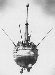 Luna 2 Soviet moon probe