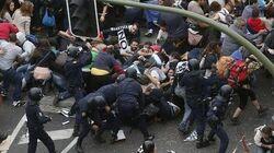 Muslim riots in German immigration center