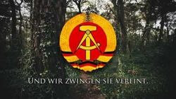 """National Anthem of East Germany - """"Auferstanden aus Ruinen"""" (1949-1990)"""