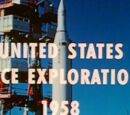 The start of American space travel