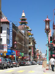 SF Chinatown CA
