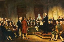 Washington Constitutional Convention 1787