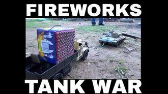 Fireworks Tank Army War July 4, 2017