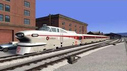 Train Simulator Aerotrain Overview