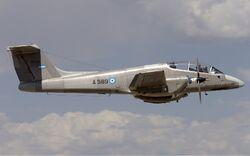Argentina Air Force FMA IA-58A Pucara Lofting-1