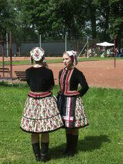 Slovenský lidový ženský kroj