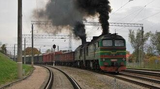 Железная дорога, Тепловозы 2М62 и модификации Diesel locomotives 2M62 and modifications