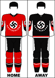 Jerseys of the German national ice hockey team (DS)