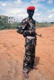 Somali soldier 1983