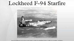 Lockheed F-94 Starfire
