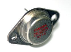 Toshiba 2n3055 transistor