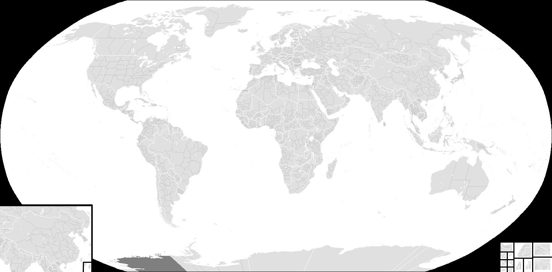 Image BlankMapWorldSubdivisionsPNG Cold War - Blank world map 1500