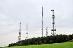 Television transmitter at Corehill - geograph.org.uk - 968795