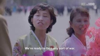 Asking People In North Korea What They Think About War