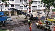 Road repaving