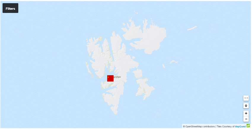 Spitzbergen attacked .1