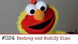 024 Hack a Toy Destroy And Modify Elmo