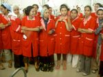 Women working at TexTunis in Tunisia