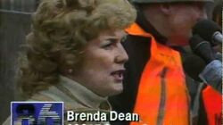 Brenda Dean at the Wapping dispute