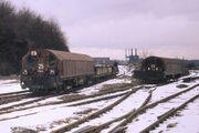 LT battery locos at Croxley Tip 1971