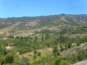 Paisaje rural en Tinjacá