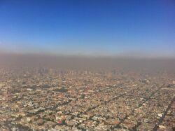 AerialViewPhotochemicalSmogMexicoCity 2
