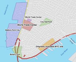 Wtc locator map