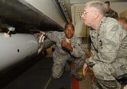 B61 nuclear bomb - inert training version