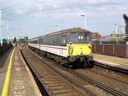 73201 at Clapham Junction