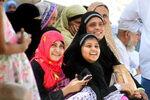 Bangladeshi Women at Jabal al-Noor, Makkah on 4 April 2015