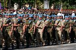 UN battalion Bastille Day 2008 n2
