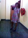 A Nigerian lady in Ankara clothing2