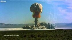 Nuclear Bomb Test Compilation HD