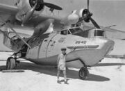 PBY-5A USCG at French Frigate Shoals 1953