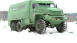 Industrie Russland - UAMZ Kolun 6X6 and Torus 4X4 Armoured Vehicles 1080p