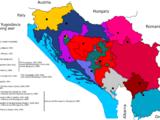 The 1991-2001 Yugoslav civil war (map game)
