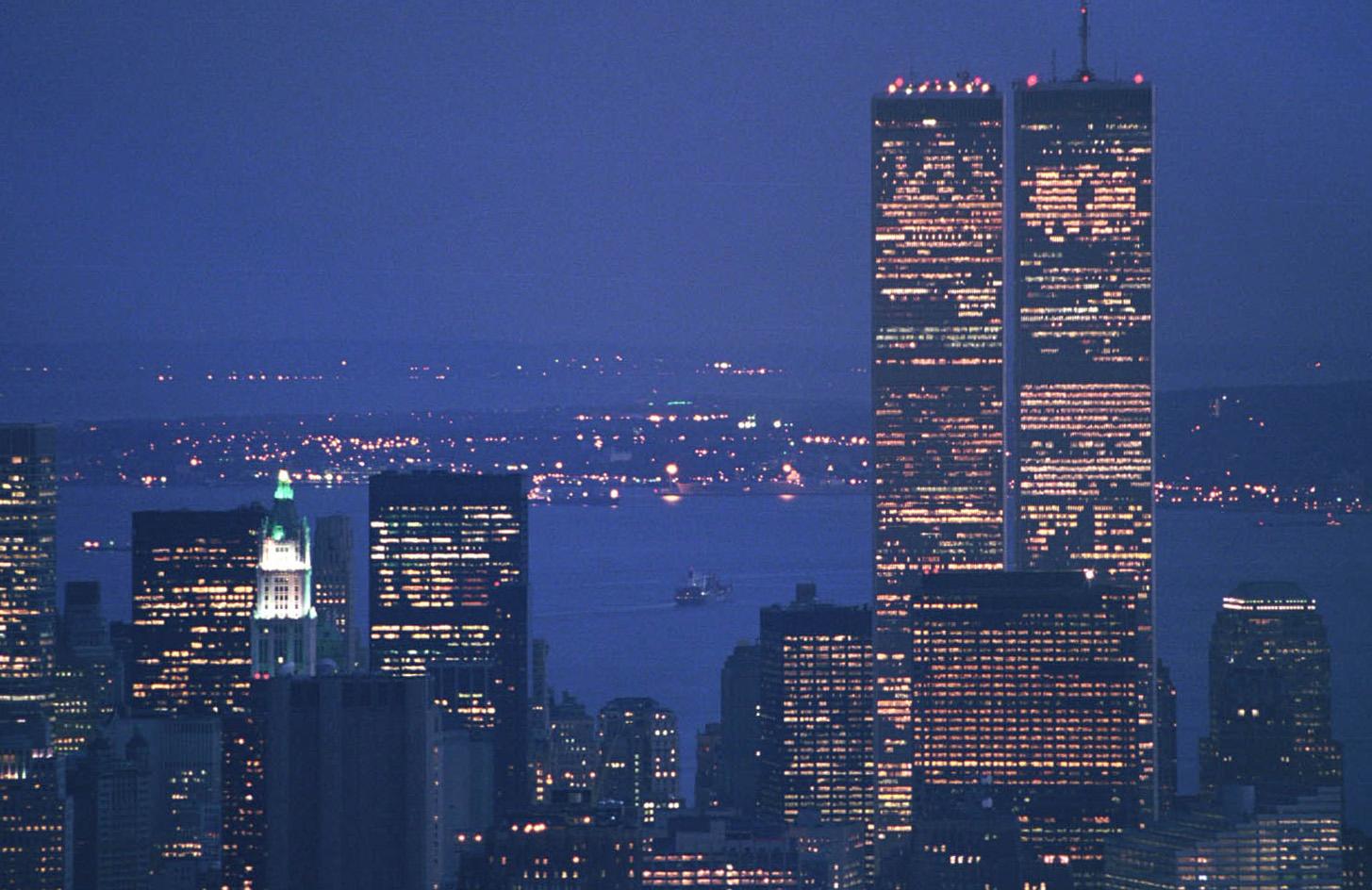 World Trade Center (1973–2001), a ledger of building ...