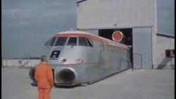 """Aérotrain I80 HV - Music by Jean-Jacques Perrey """"Chronophonie"""""""
