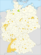 Bremen+Bremenhaven, Lubek, Baden, Rostock and Hambourg.