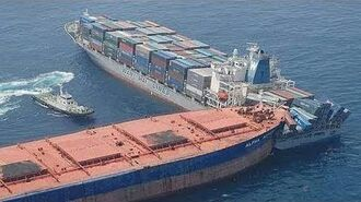 GRANDIOSE Ships Collisions, Video Compilation