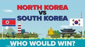 North Korea vs South Korea 2017 - Who Would Win - Army Military Comparison