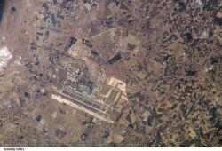Mohammed V International Airport ISS005-E-10903