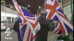 On the streets with far-right extremists Britain First Channel 4 News