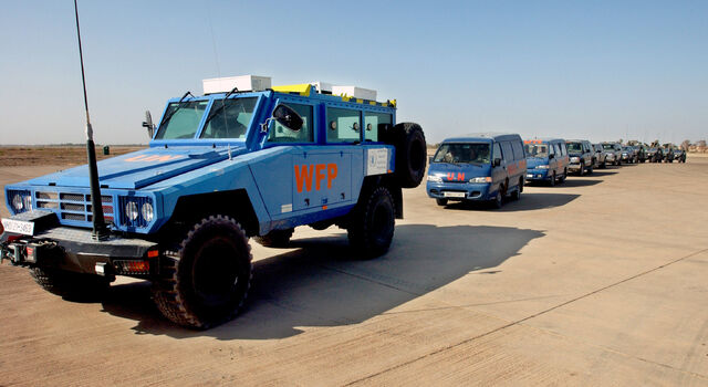 File:Armored vehicle from the UN World Food Program.JPG