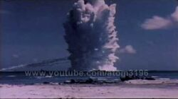 HD tsunami bomb underwater nuclear explosion 1958 operation hardtack-1