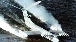 TOP SECRET Russian military AIRCRAFT Lun-class ekranoplan US air force dose not have this-0