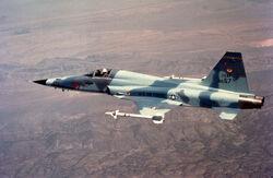 Northrop F-5E (Tail No. 01557) 061006-F-1234S-073